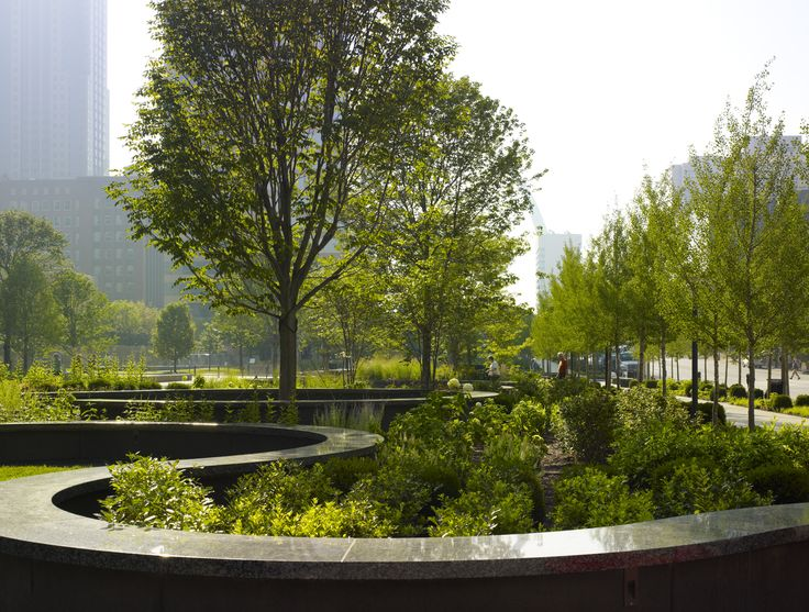 Meander Wall at Citygarden St. Louis