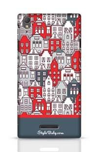 Netherlands Houses Set Sony Xperia T3 Phone Case