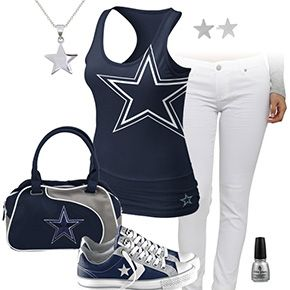 Dallas Cowboys Outfit With Converse
