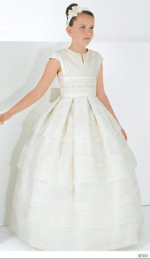 Miquel Suay vestidos de comunion para niñas 2013 modelo 5 - Trajes de primera comunion