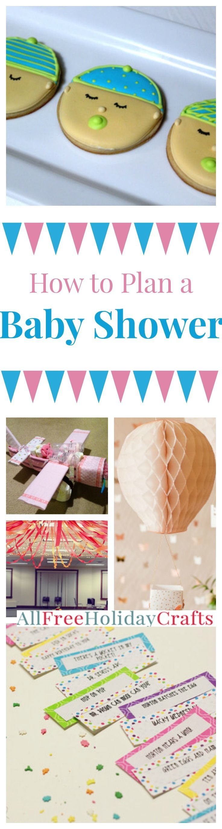 How to Plan a Baby Shower | AllFreeHolidayCrafts.com