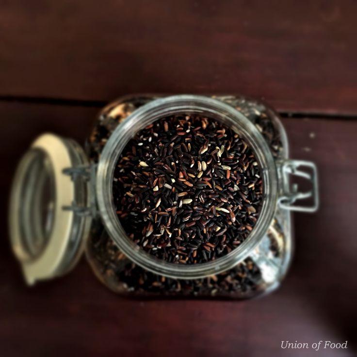 Simple Falafels, Black Rice, and Tzatziki —