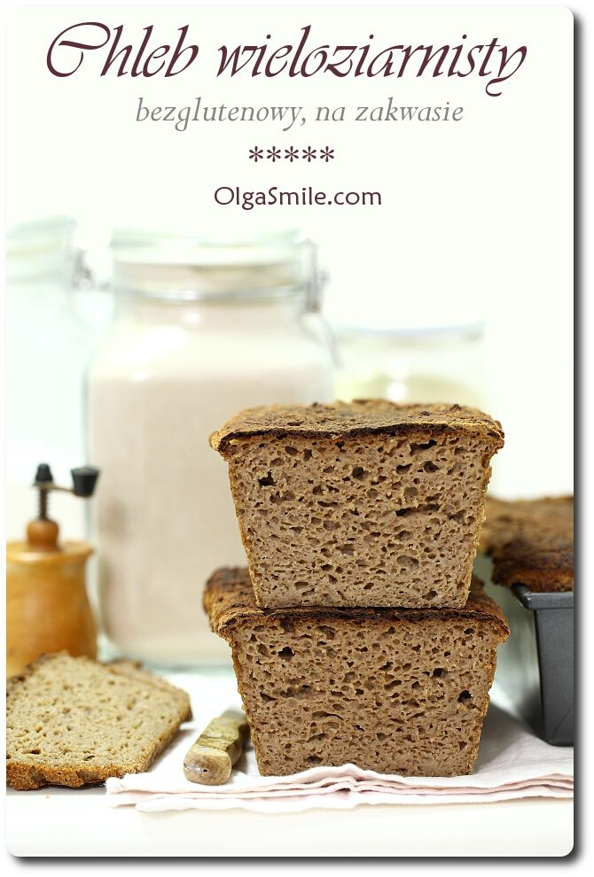 Chleb wieloziarnisty bezglutenowy