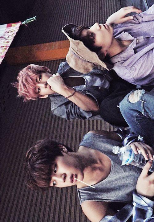 Jin, V & Jungkook | Tumblr