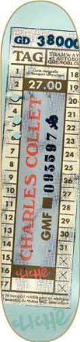 Cliche Collet Bus Ticket (7.75-Inch)