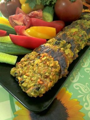 AMIDON: chiftele din cartofi si legume rase