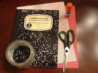 covers for composition books  pretty cool idea - lots of great ideas for elementary here