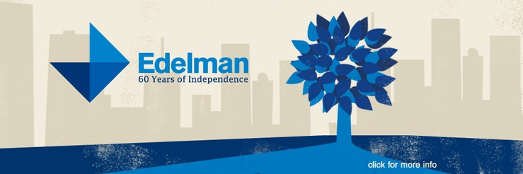After graduation, I moved to New York City and began working as an Assistant Account Executive at Edelman PR.  I was promoted to Account Executive in one year.