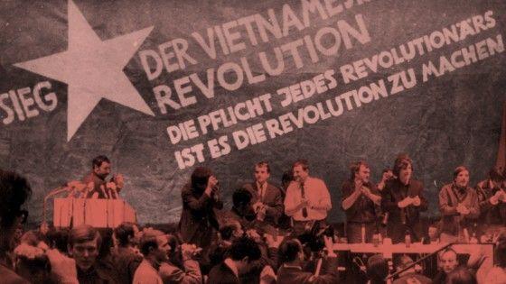 Dutschke,Vietnam-Demo Berlin