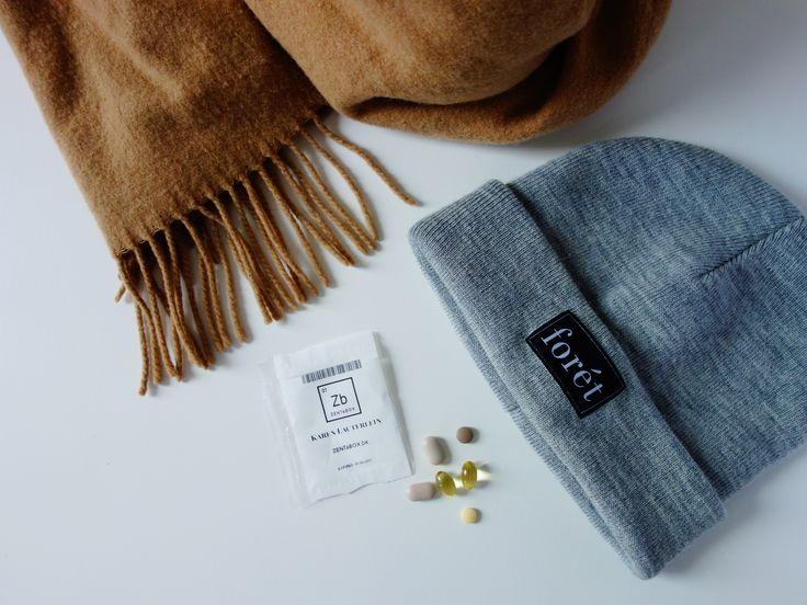 Zentabox vitamins and warm clothes