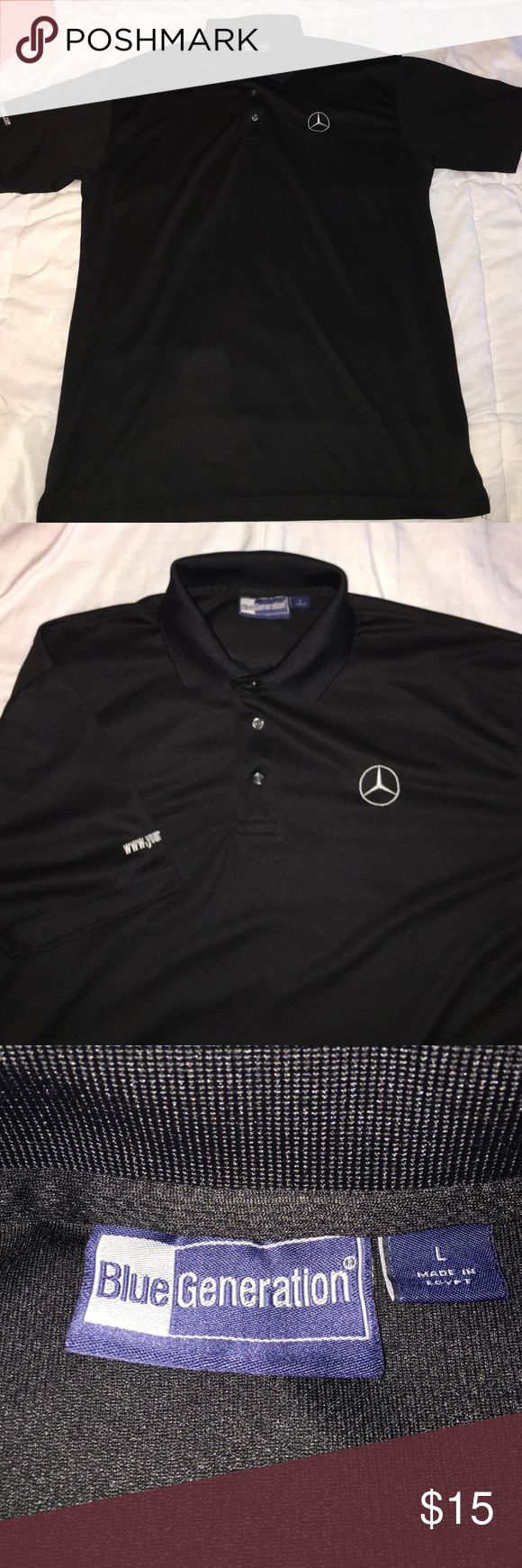 Mercedes Benz Polo T-Shirt Never worn. Brand new, without tags. Mercedes benz Shirts Polos