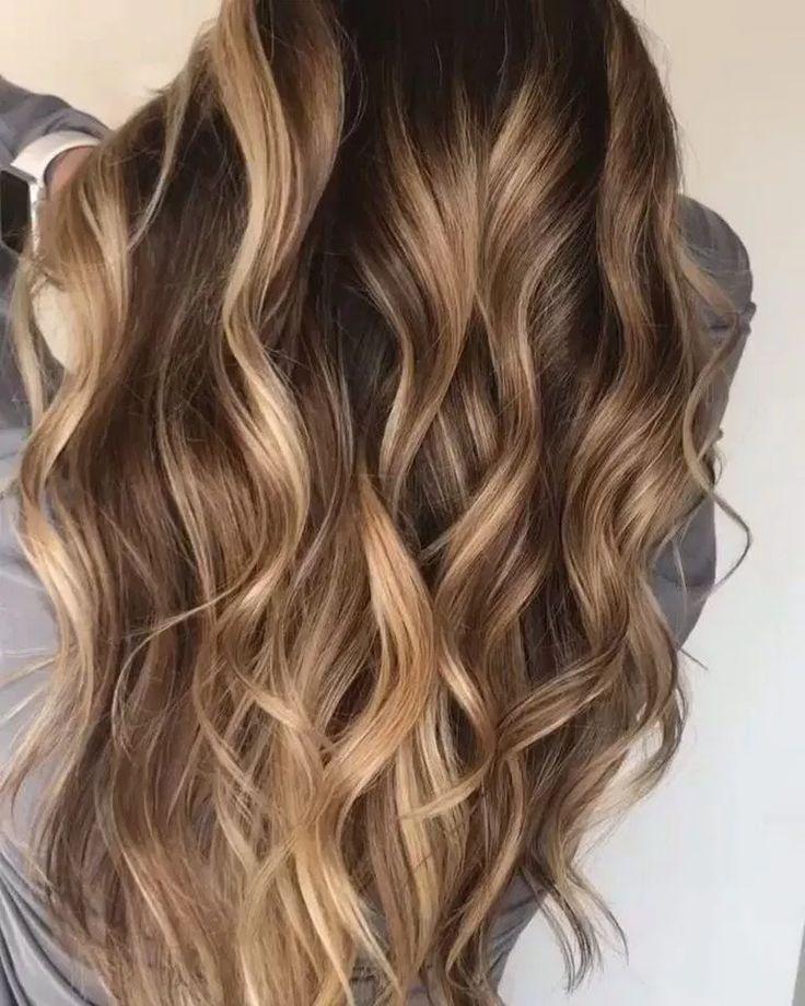 √87 Schmeichelnde Balayage Haarfarbe Ideen für 2019 – #balayage # für #haarfarbe # Ideen #smog …