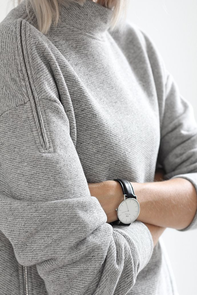Classic Sheffield Silver Watch by Daniel Wellington | From Clockwize.uk