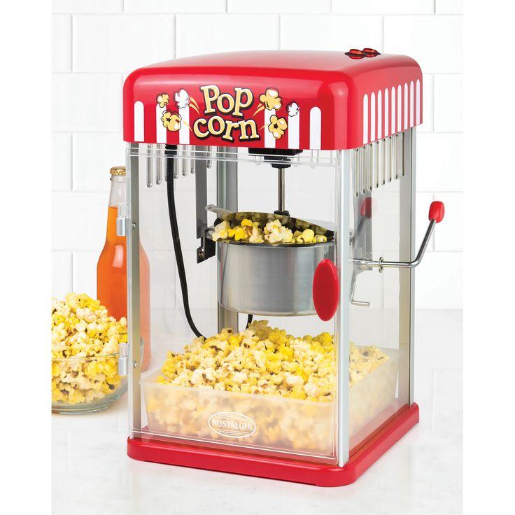 Nostalgia PKP250 2.5-Ounce Kettle Popcorn Maker (Red)