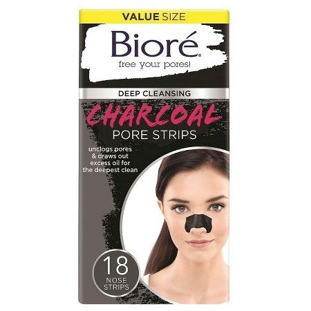 Biore Charcoal Pore Strips 18 ct .  Currently have 3 left.