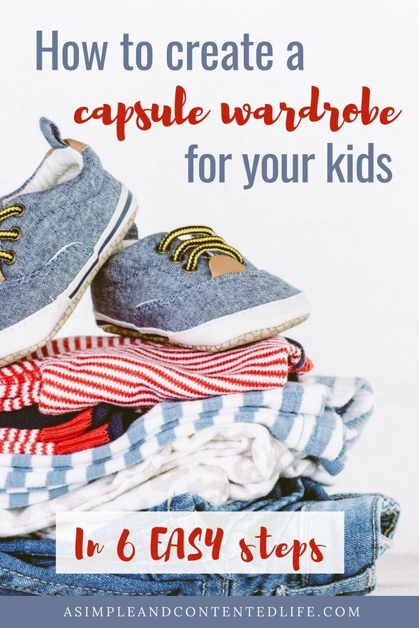 8eb05ab00150ff A capsule wardrobe for your kids makes life so much easier. There s less  washing