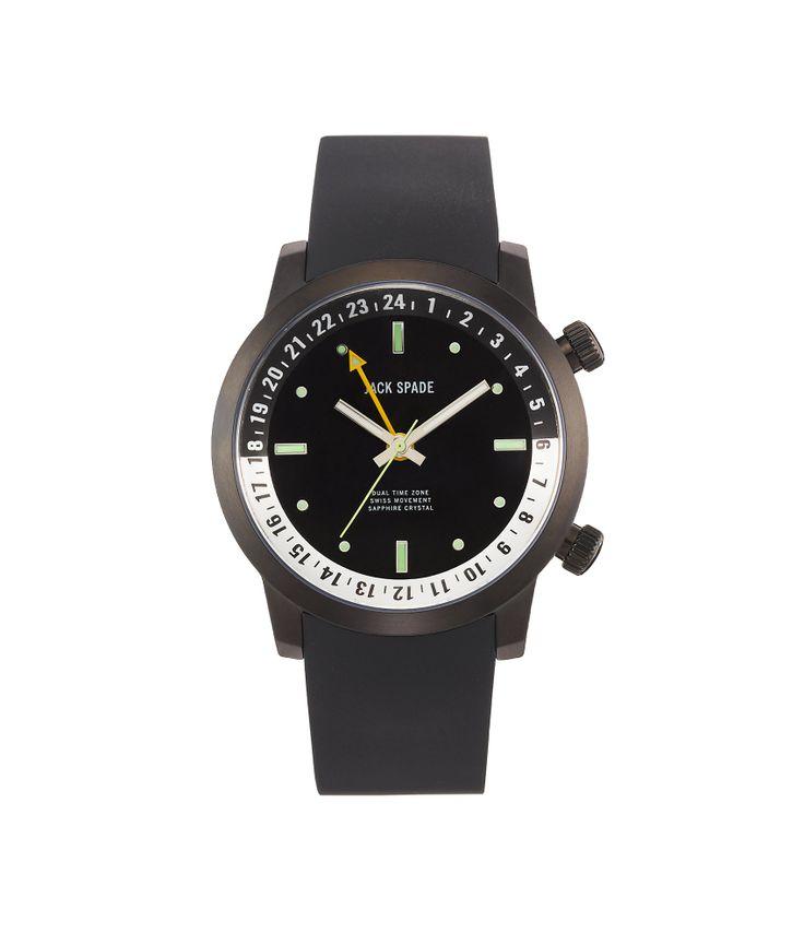 Jake Spade Dual Time Zone Watch