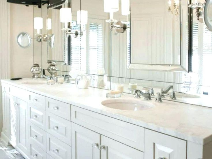 15 Inspirations Large Frameless Bathroom Mirror: Best 25+ Frameless Mirror Ideas On Pinterest