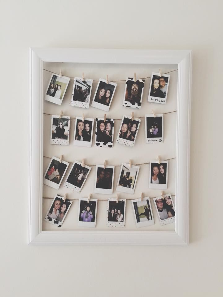 25 best ideas about polaroid decoration on pinterest for Display bedroom ideas