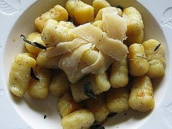 Gnocchi with Sage, Butter And Parmesan