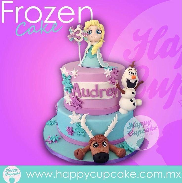 #FrozenCake #Frozen #HappyCupcake