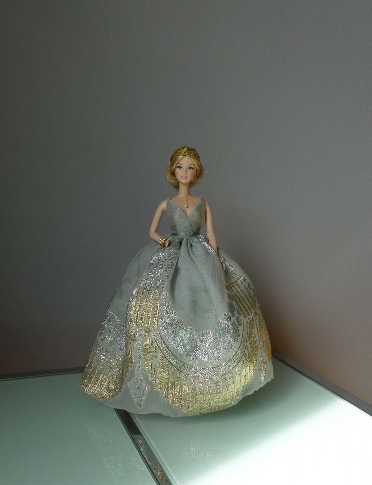 Il tait une fois fiche patron barbie robe de soir e format pdf barbie patron robe and - Patron de robe de soiree ...