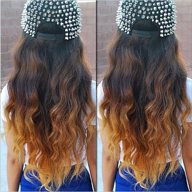 le extension ombre per i tuoi capelli neri o castani