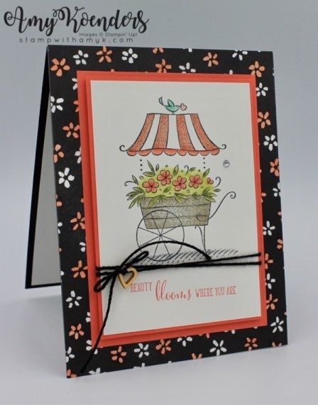 Stampin' Up! Friendship's Sweetest Thoughts Bloom Card – Stamp With Amy K
