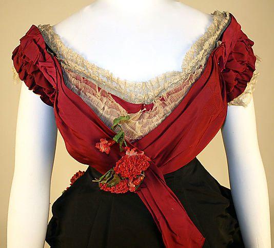 Ball gown Date: late 1870s Culture: British Medium: silk 3 of 4