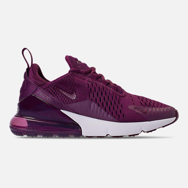 97978f685 Right view of Women s Nike Air Max 270 Casual Shoes in Bordeaux Vintage  Wine Summit White
