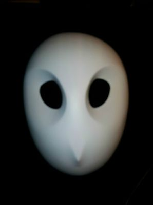 Super Punch: DC's Court of Owls masks [I like the simplicity of this]