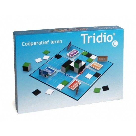 Tridio C - Coöperatief leren - Kinderen kunnen samen ontdekken hoe je met gegeven zijaanzichten een ruimtelijk bouwwerk kunt maken. Tridio C is een leuke uitdaging!