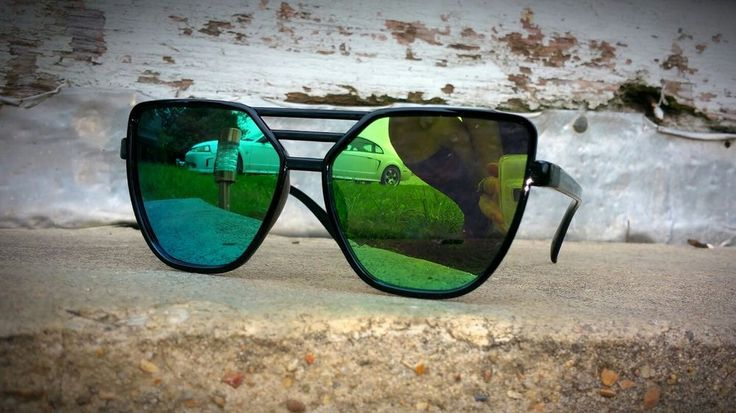mens wonens aviator sunglasses black frames green mirror lenses designer pilot  | Clothing, Shoes & Accessories, Women's Accessories, Sunglasses & Fashion Eyewear | eBay!
