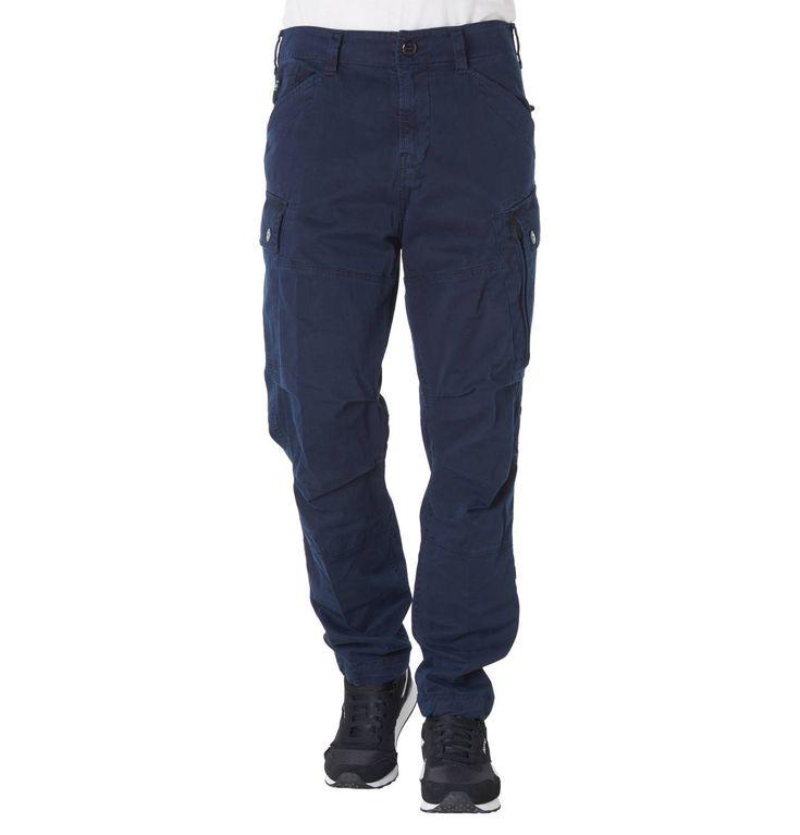 Stoffhose, Cargo-Stil, Taschen
