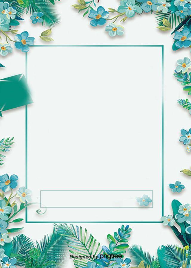 Latar Belakang Poster Promosi Margin Bunga Biru Di 2020 Bunga Biru Latar Belakang Bunga Latar Belakang