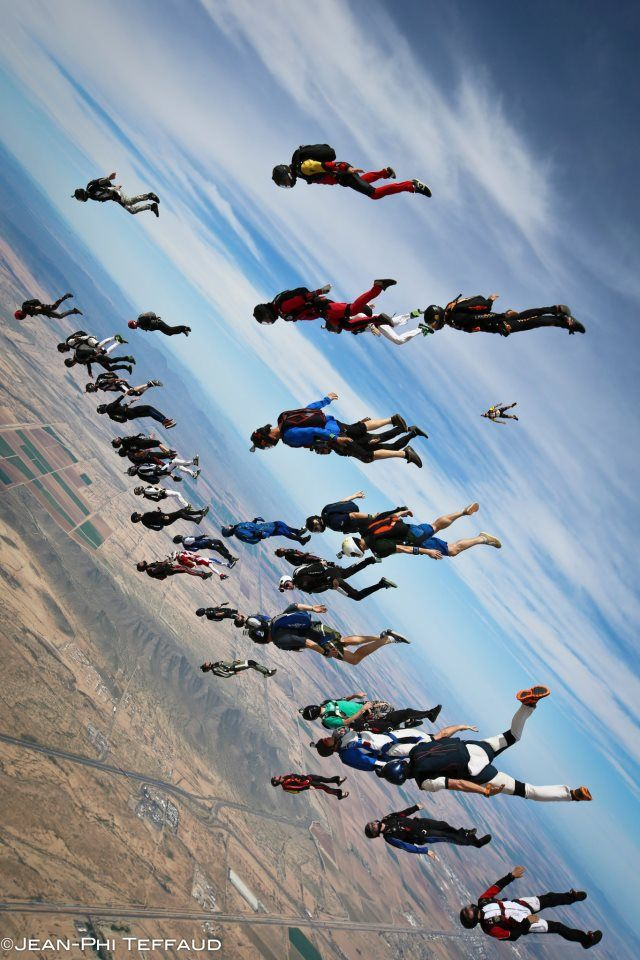 Skydive some day! =}