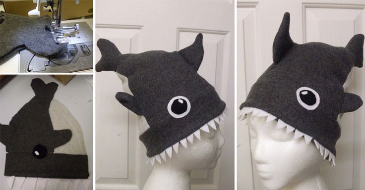 How to Make Shark Attack Hat - Sew, Uncategorized - Handimania