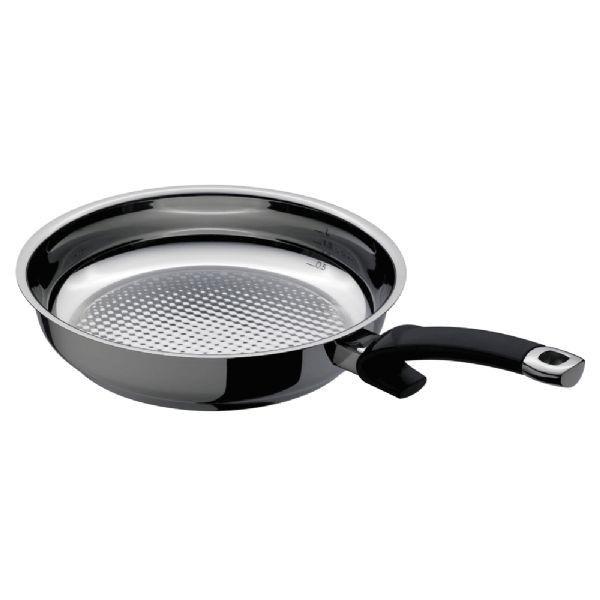 Fissler Crispy Steelux Comfort Frypan 28cm