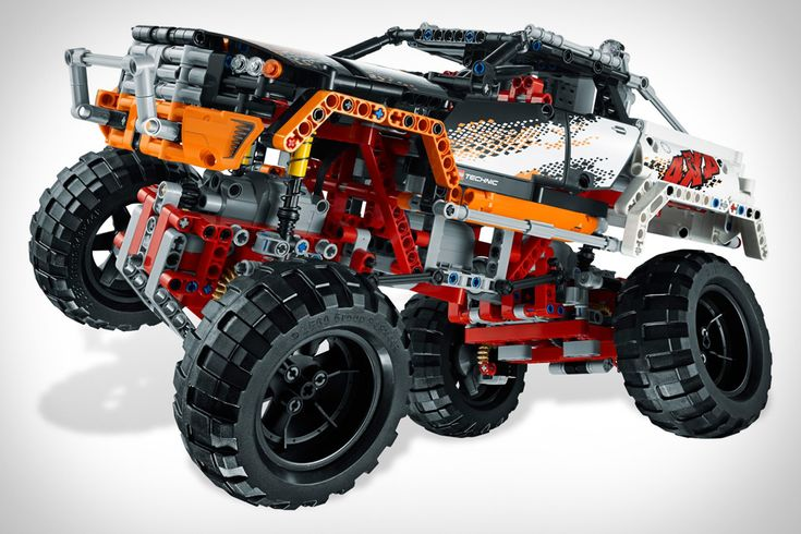 Lego Technic 4×4 Crawler ($200). Clocking in at 1,327 pieces, it has motorized 4-wheel steering & 4-wheel drive, opening doors and a remote control.