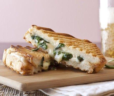Brie + Watercress SandwichFood Recipes, Foodies, Grilledcheese, Gourmet Grilled Cheeses, Bruschetta Appetizers, Sandwich Recipes, Brie Watercress, Sandwiches Recipe, Watercress Sandwiches