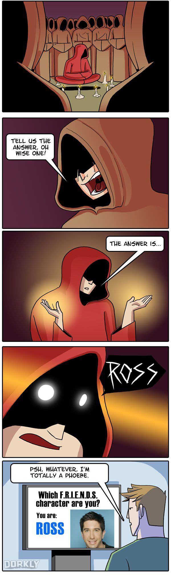 """""""The Terrifying Truth Behind Online Personality Quizzes"""" #dorkly #geek #comics"""