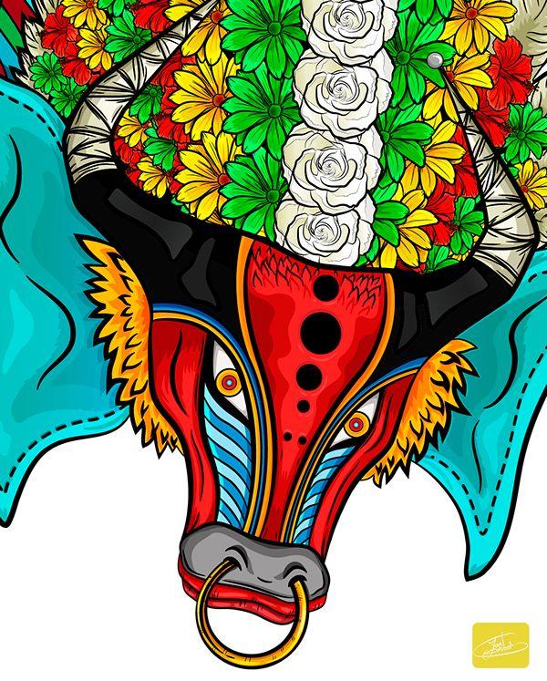 Ilustración Agenda Carnaval de Barranquilla 2015 on Behance
