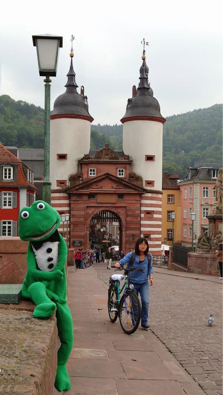 Old Bridge Gate, Heidelberg, Baden-Württemberg, Germany