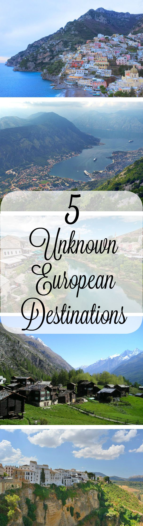 5 Unknown European Destinations
