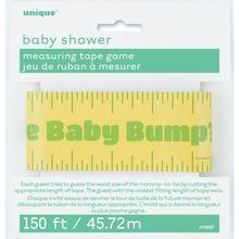 Baby Shower Baby Bump Measuring Tape Game