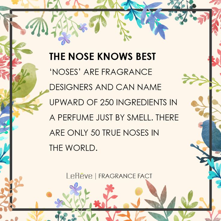 Consulting Perfumer (Nose) to Le Reve John Lambeth is one of only a few true 'noses' in the world -