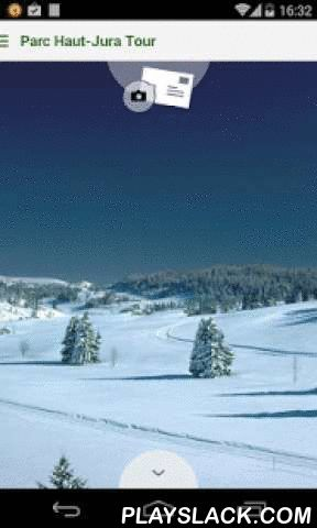 Haut-Jura Tour  Android App - playslack.com ,  Bienvenue dans le Parc naturel régional du Haut-JuraVille, village, hameau, maison isolée, ici la montagne est partout habitéeDe l'espace, des forêts, des pâtures, des prairies. Des hommes, des métiers, des vaches, du fromage,... Des Savoir Faire et une Histoire, des idées nouvelles, de la tradition et de l'innovation.De l'eau qui court, de l'eau qui dort, milles miroirs et reflets changeants pour captiver votre regard et vos souvenirs.C'est un…