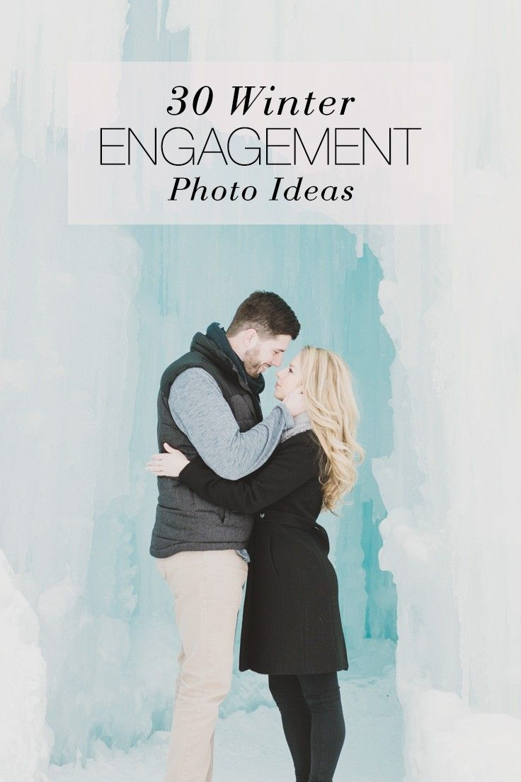 example0th wedding anniversary newspaper announcements%0A  ad     Winter Engagement Photo Ideas   Wedding Paper Divas