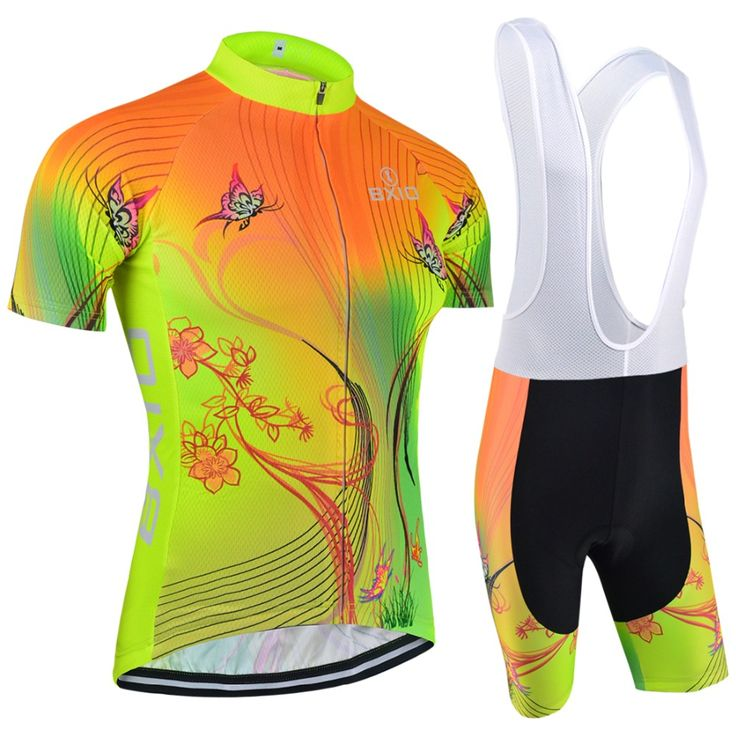 Top Rate Fluorescence Women Cycling Sets Bxio Brand Bicycle Short Sleeve Road Bike Clothing Roupas De Ciclismo Equipacion 120