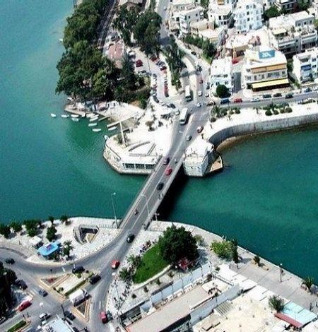 Porthmos Evripos - Chalkida, Evia Island